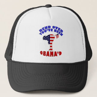 Bend Over You've Been Obama'd Trucker Hat