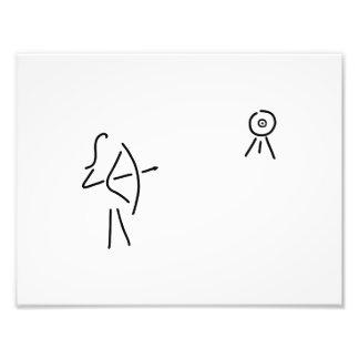 bend-protects arrow bent photo print