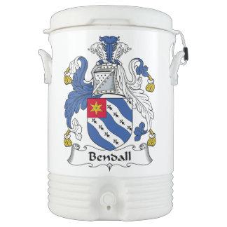 Bendall Family Crest Igloo Beverage Dispenser