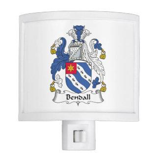 Bendall Family Crest Nite Lite