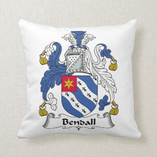 Bendall Family Crest Pillows