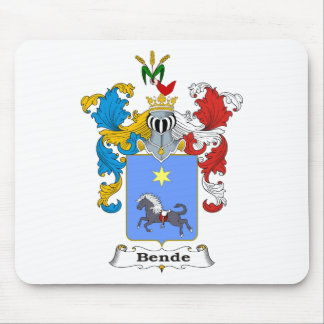 Bende Family Hungarian Coat of Arms Mouse Pad
