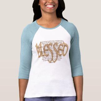 Bendecido - beatitudes camiseta