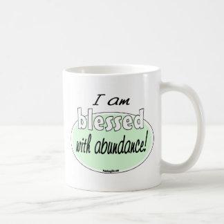Bendecido con la taza de la abundancia