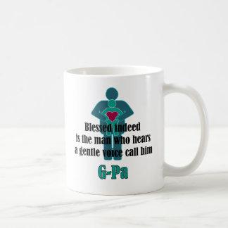 (Bendecido de hecho) taza del día de padre G-PA