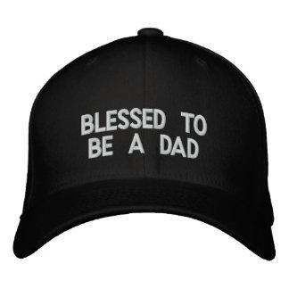 Bendecido para ser un papá gorra de béisbol bordada