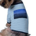Bendecido sea el nombre del señor camisetas de perrito