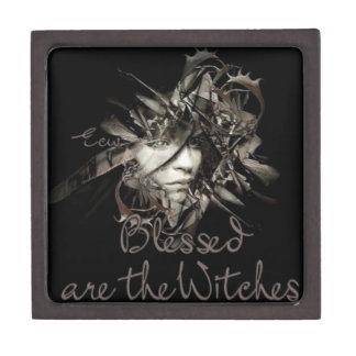 Bendecido sea la caja de regalo de las brujas cajas de recuerdo de calidad