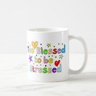 Bendecido también para ser subrayado tazas de café
