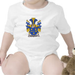 Benderup Family Crest Baby Bodysuits