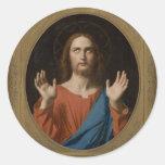 Bendición Cristo circa 1834 Etiquetas