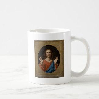 Bendición Cristo circa 1834 Tazas De Café