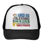 Bendición de 5 camisetas y ropas del autismo de lo gorras