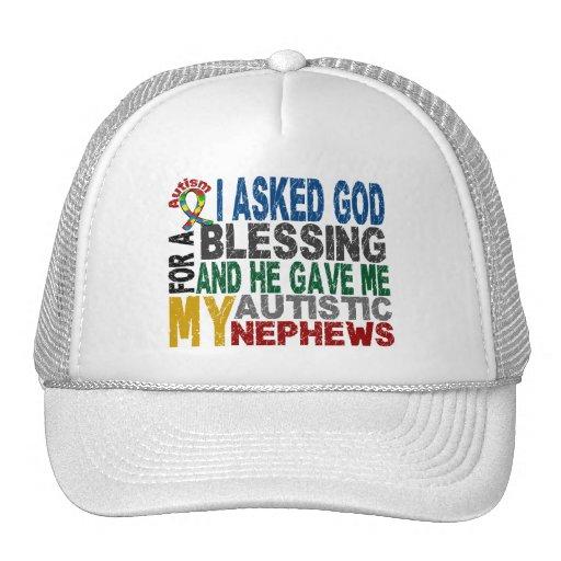 Bendición de 5 camisetas y ropas del autismo de lo gorras de camionero