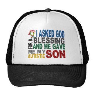 Bendición de 5 camisetas y ropas del autismo del H Gorros
