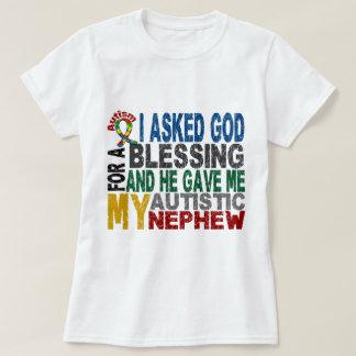 Bendición de 5 camisetas y ropas del autismo del playeras