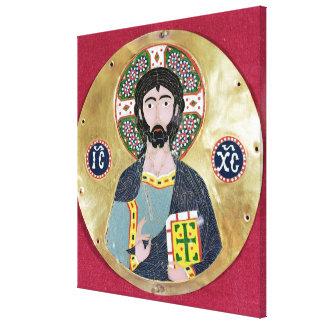 Bendición de Cristo, 10mo-11mo siglo Impresión En Tela