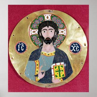 Bendición de Cristo, 10mo-11mo siglo Póster