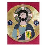 Bendición de Cristo, 10mo-11mo siglo Tarjeta Postal