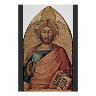 Bendición de Cristo por Martini Simone (la mejor c Impresiones