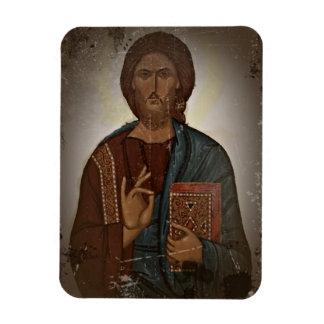 Bendición de Jesús Imán Rectangular