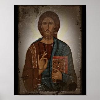 Bendición de Jesús Póster