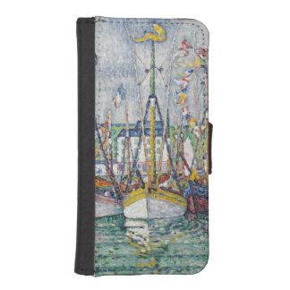 Bendición de la flota del atún en Groix, 1923 Cartera Para iPhone 5