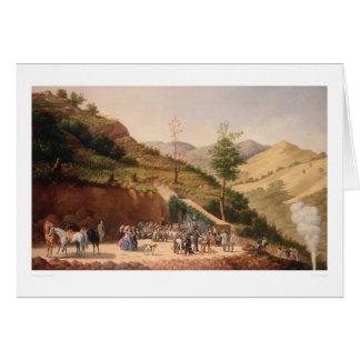 Bendición de la mina de Enrequita (0106A) Tarjeta De Felicitación