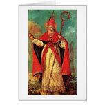 Bendición de San Nicolás de Francesco Guardi Tarjeta De Felicitación