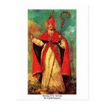 Bendición de San Nicolás de Guardi Francisco Tarjetas Postales