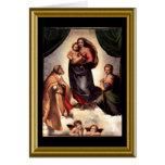 Bendición de St Francis - navidad Tarjetón