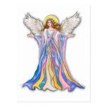 Bendición del ángel de guarda tarjetas postales