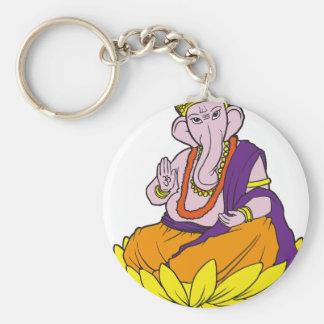 Bendición Ganesha Llaveros Personalizados