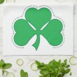 Bendición irlandesa toallas de mano