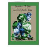 Bendiciones a usted el el día de St Patrick Felicitaciones