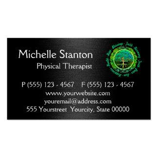 Bendiciones, armonía de la fe tarjetas de visita