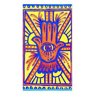 Bendiciones brillantes plantilla de tarjeta de visita