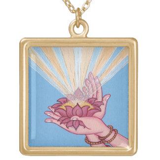 Bendiciones de la flor de Lotus - collar