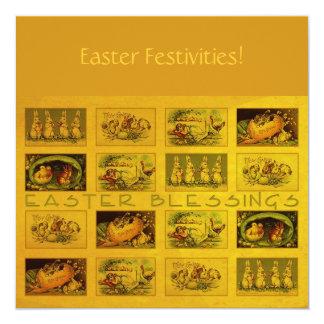 """Bendiciones de Pascua Invitación 5.25"""" X 5.25"""""""