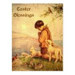 Bendiciones de Pascua Postales