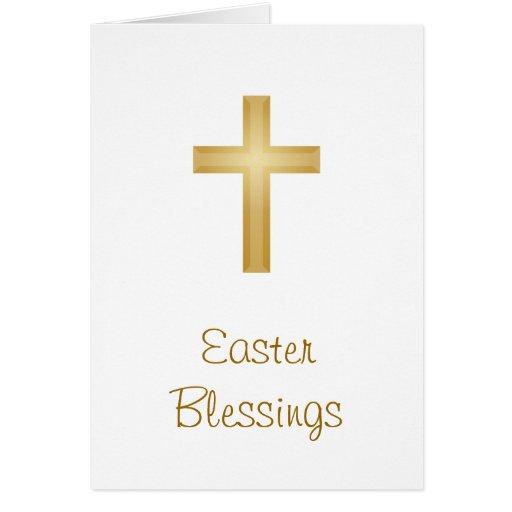 Bendiciones de Pascua/religioso Tarjeta De Felicitación