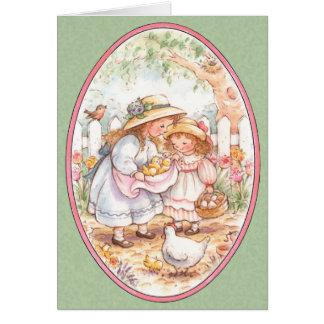 Bendiciones de Pascua - tarjeta de felicitación