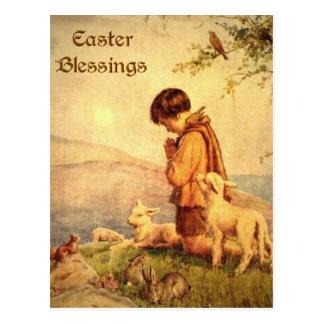 Bendiciones de Pascua Tarjetas Postales