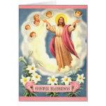 Bendiciones de Pascua Tarjetón