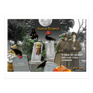 Bendiciones de Samhain Postal