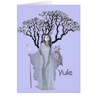 Bendiciones de Yule - de Hecate Tarjeta De Felicitación