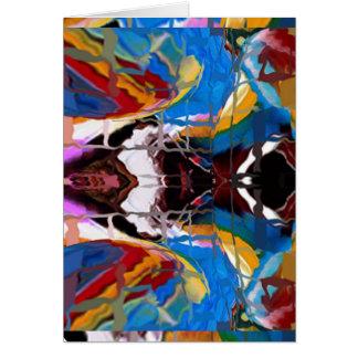Bendiciones del mundo de los espíritus - tarjeta de felicitación