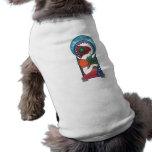 Bendiciones del navidad camiseta de mascota