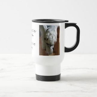 Bendiciones del perro taza