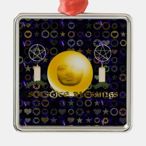Bendiciones del solsticio ornamente de reyes